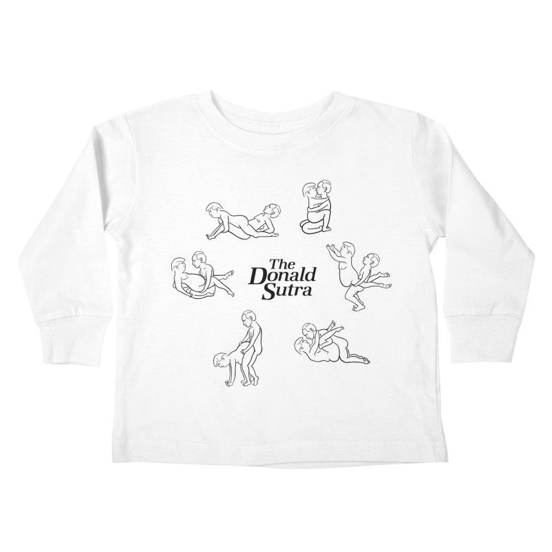 The Donald Sutra Kids Toddler Longsleeve T-Shirt by phildesignart's Artist Shop