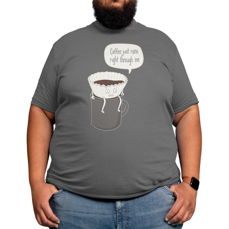 Coffee Runs Men's T-Shirt by Phildesignart