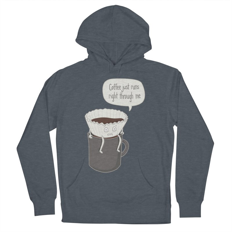 Coffee Runs Women's Pullover Hoody by Phildesignart