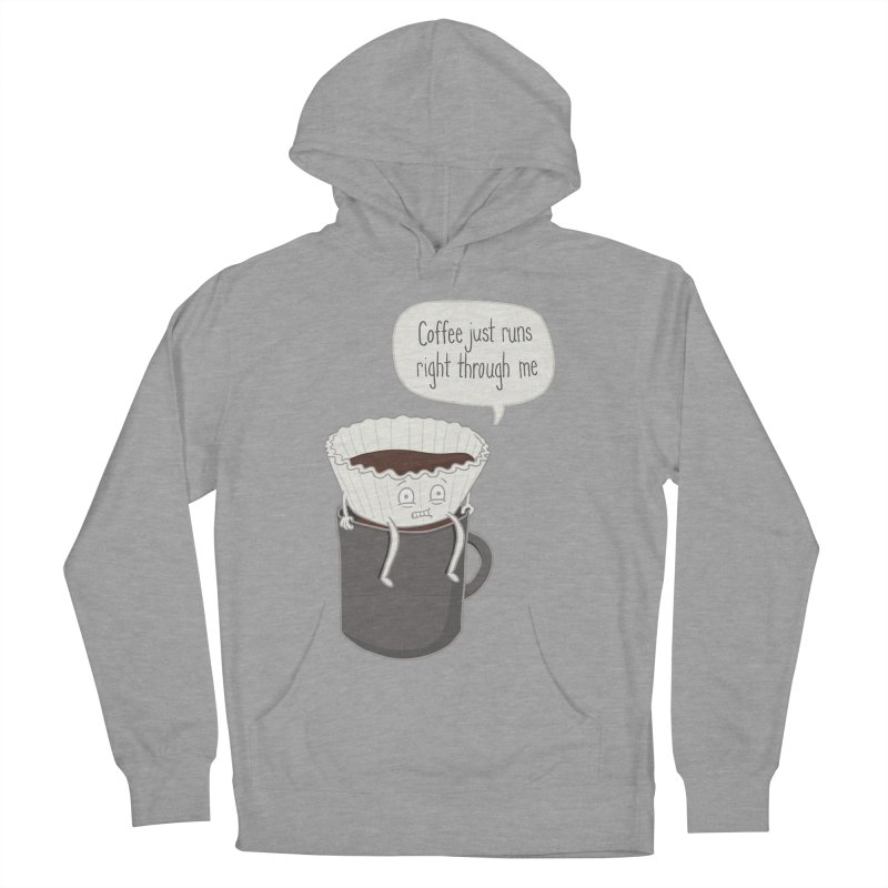 Coffee Runs Women's Pullover Hoody by phildesignart's Artist Shop