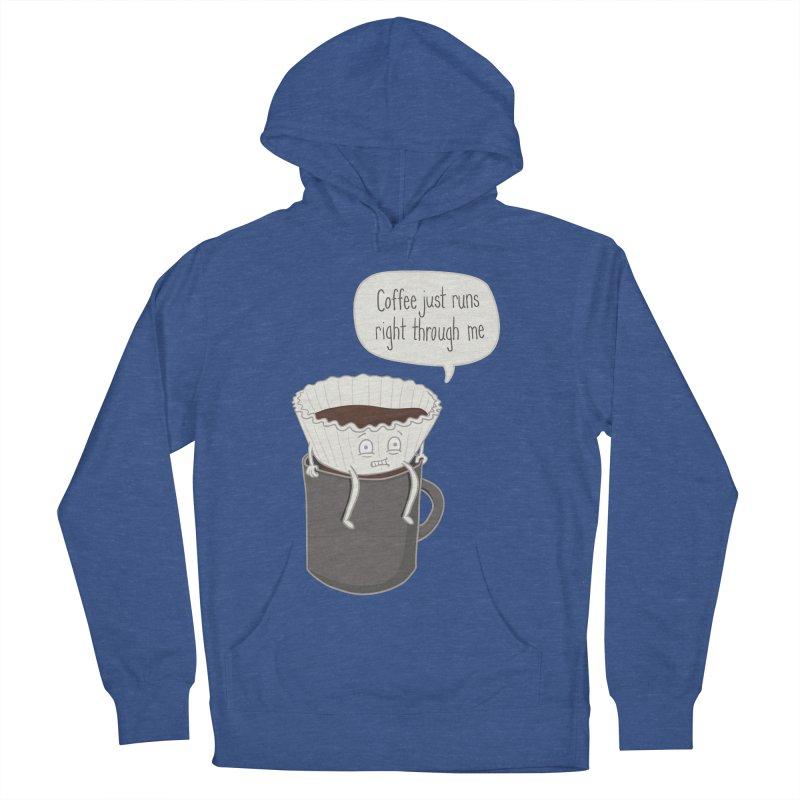 Coffee Runs Men's Pullover Hoody by Phildesignart