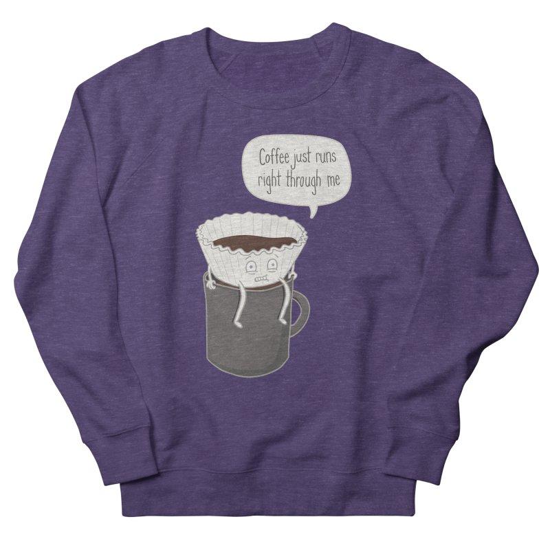 Coffee Runs Women's Sweatshirt by Phildesignart