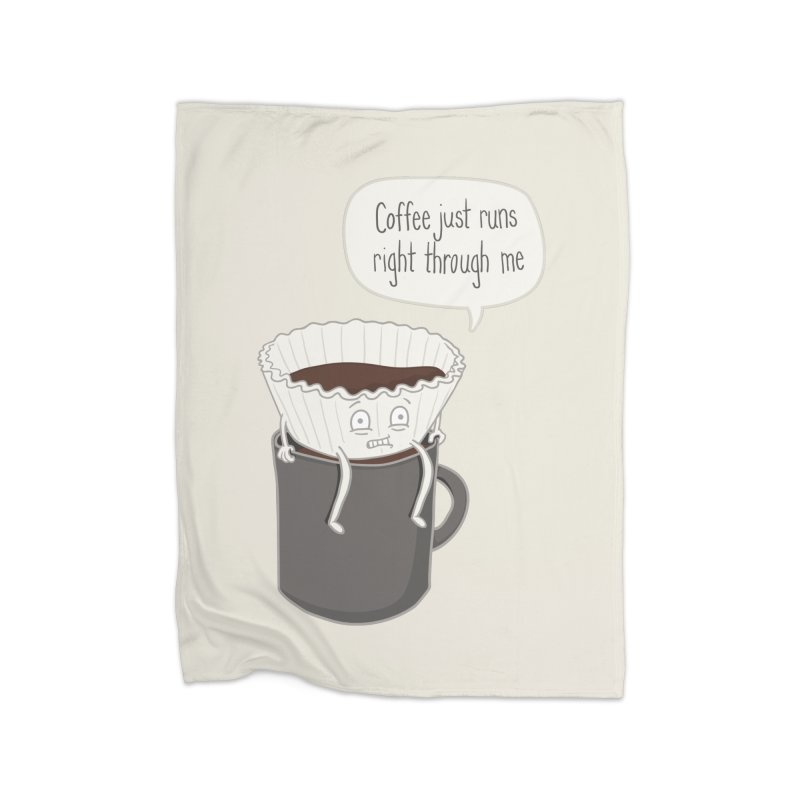 Coffee Runs Home Blanket by phildesignart's Artist Shop