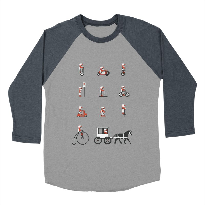 Not As Exciting Women's Baseball Triblend Longsleeve T-Shirt by Phildesignart