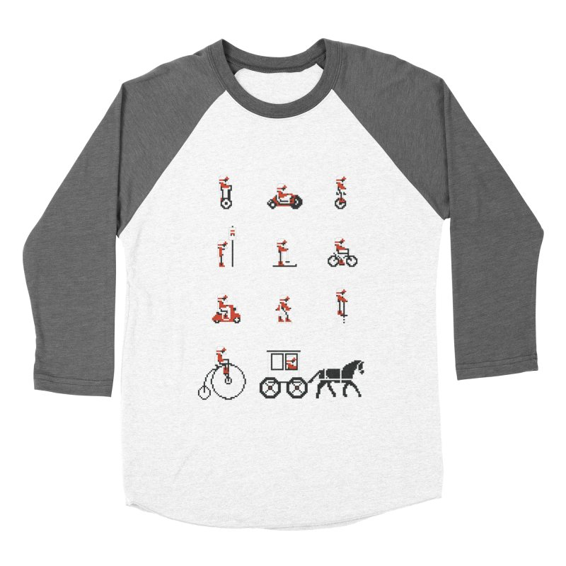 Not As Exciting Men's Baseball Triblend Longsleeve T-Shirt by Phildesignart