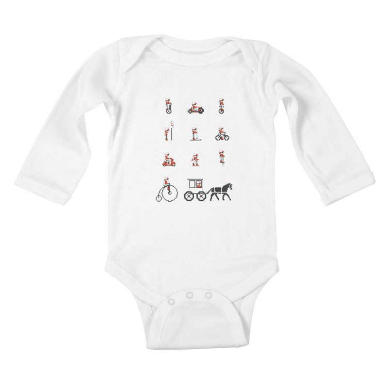 Not As Exciting Kids Baby Longsleeve Bodysuit by phildesignart's Artist Shop