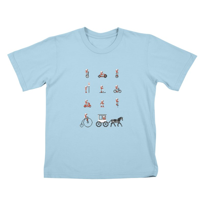 Not As Exciting Kids T-Shirt by Phildesignart