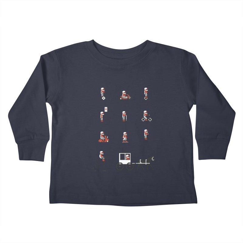 Not As Exciting Kids Toddler Longsleeve T-Shirt by phildesignart's Artist Shop