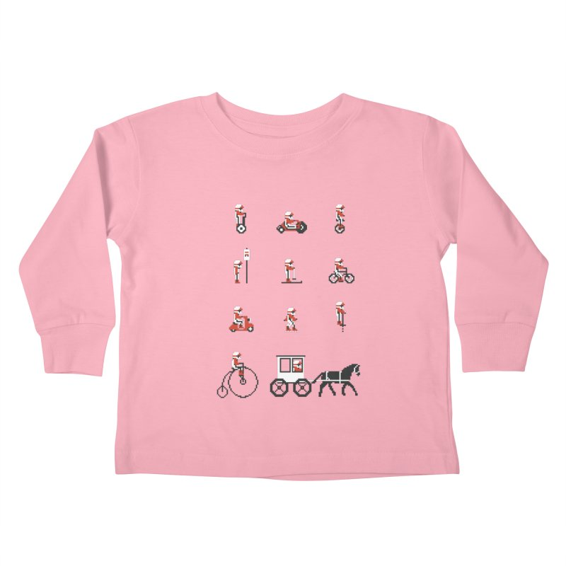 Not As Exciting Kids Toddler Longsleeve T-Shirt by Phildesignart