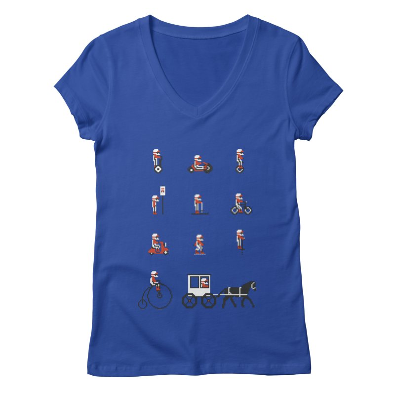 Not As Exciting Women's Regular V-Neck by Phildesignart
