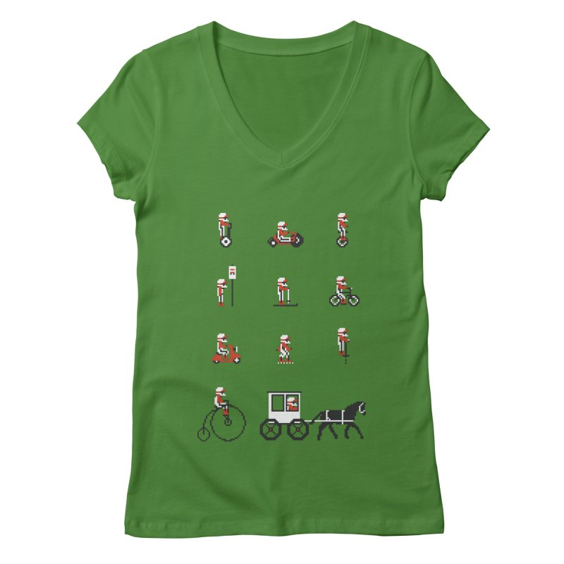 Not As Exciting Women's V-Neck by phildesignart's Artist Shop