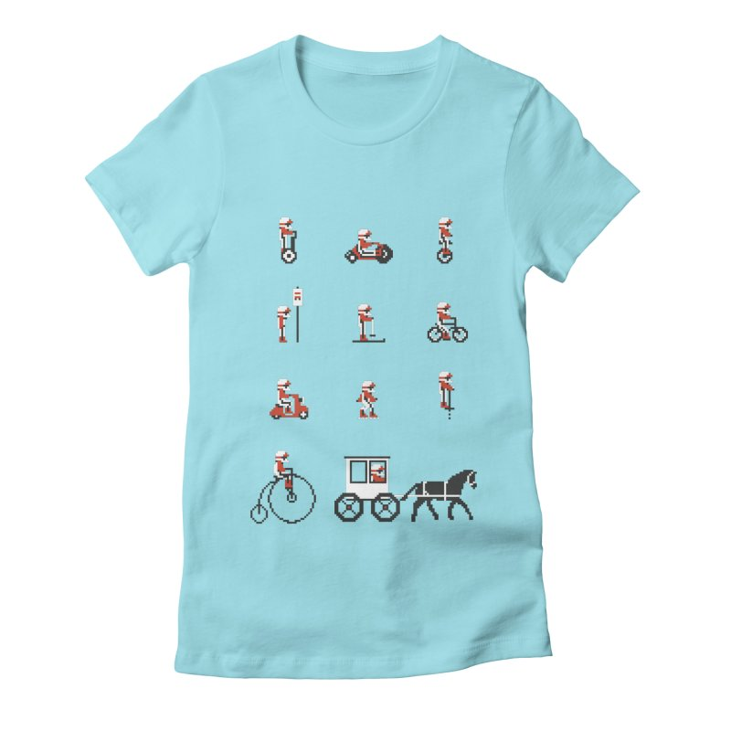 Not As Exciting Women's Fitted T-Shirt by phildesignart's Artist Shop
