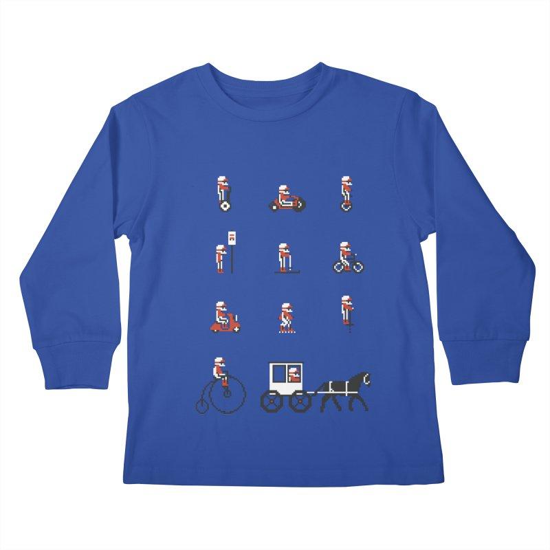 Not As Exciting Kids Longsleeve T-Shirt by phildesignart's Artist Shop