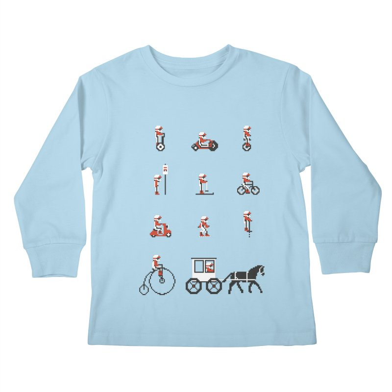 Not As Exciting Kids Longsleeve T-Shirt by Phildesignart