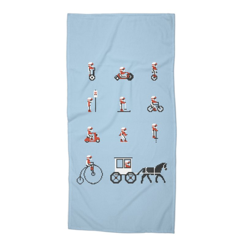 Not As Exciting Accessories Beach Towel by Phildesignart