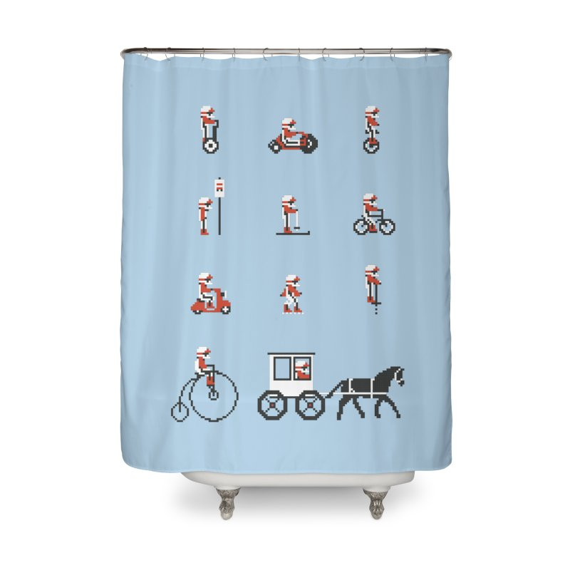Not As Exciting Home Shower Curtain by Phildesignart