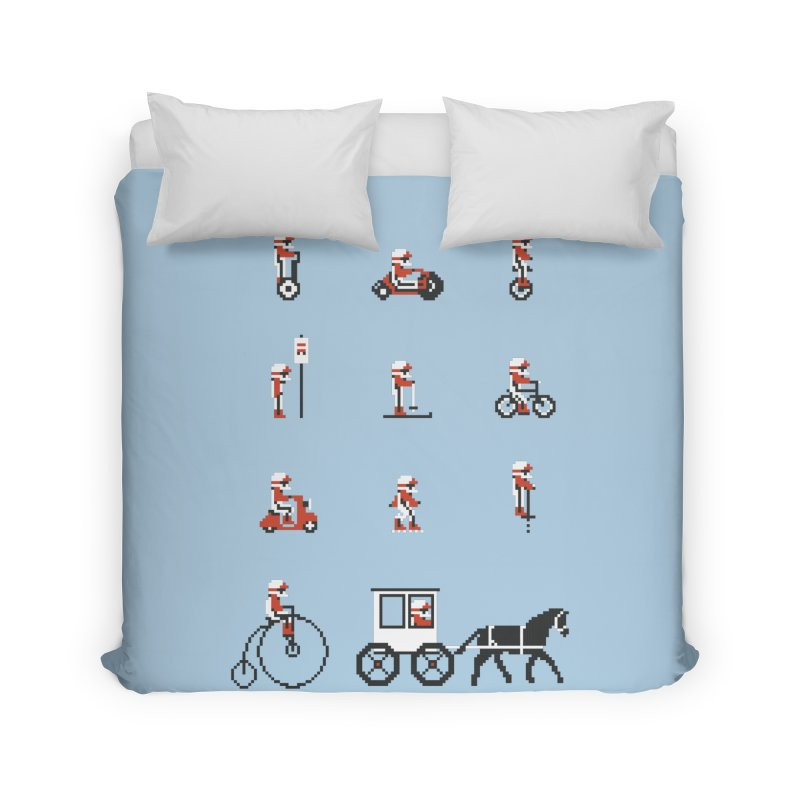 Not As Exciting Home Duvet by Phildesignart