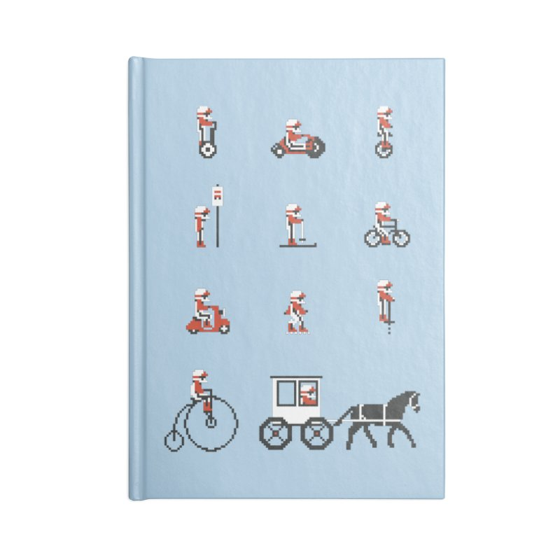 Not As Exciting Accessories Notebook by Phildesignart
