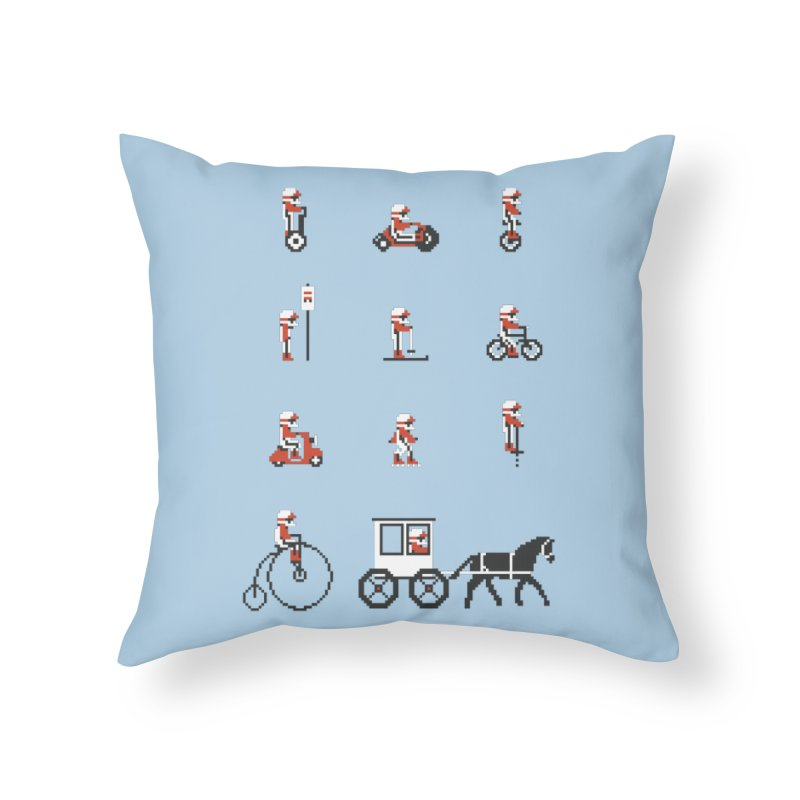 Not As Exciting Home Throw Pillow by Phildesignart