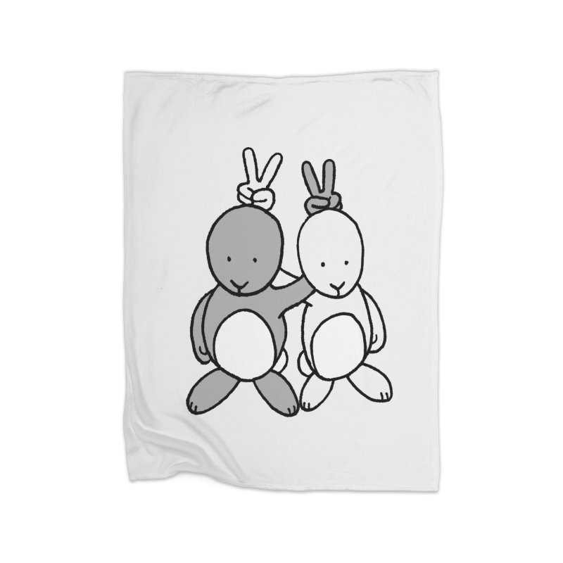Bunny Ears Home Blanket by phildesignart's Artist Shop