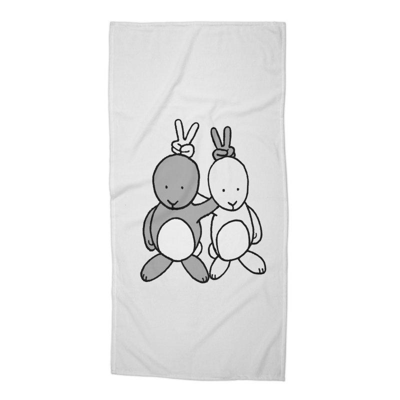Bunny Ears Accessories Beach Towel by phildesignart's Artist Shop