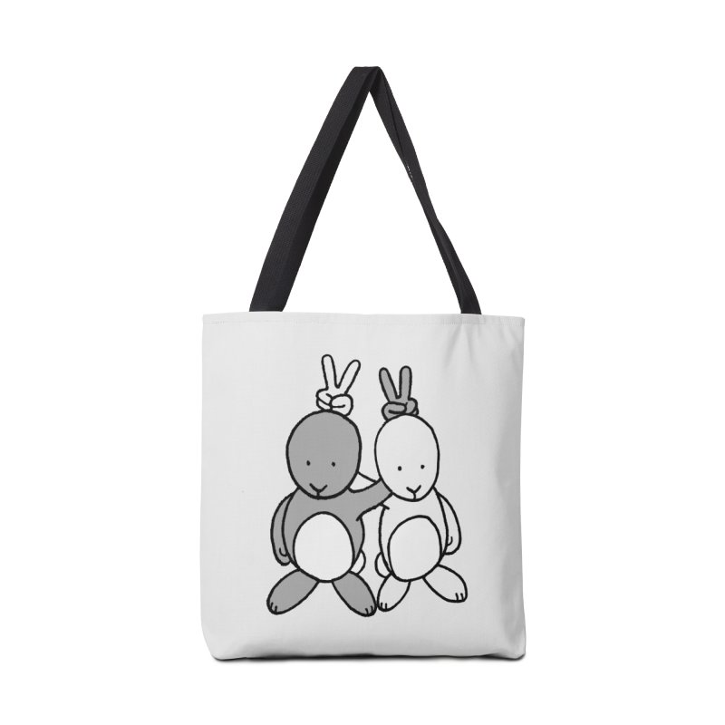 Bunny Ears Accessories Bag by phildesignart's Artist Shop