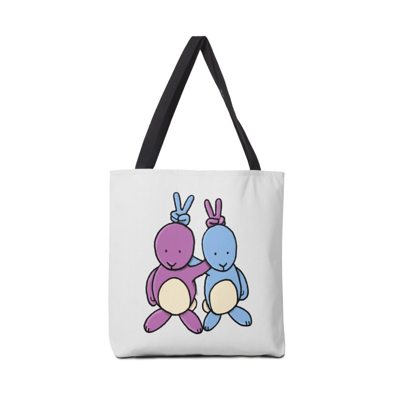 Bunny Ears Accessories Bag by Phildesignart