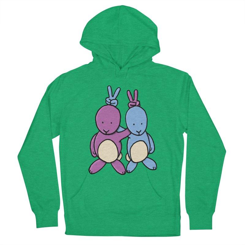 Bunny Ears Men's Pullover Hoody by Phildesignart