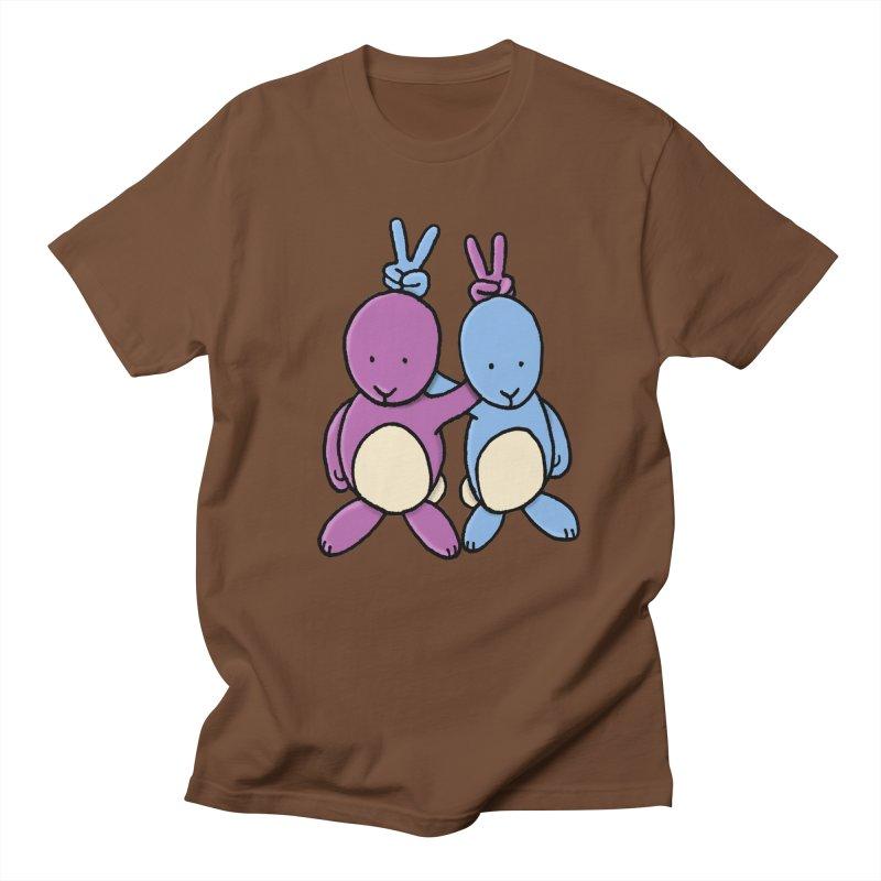 Bunny Ears Men's T-Shirt by Phildesignart