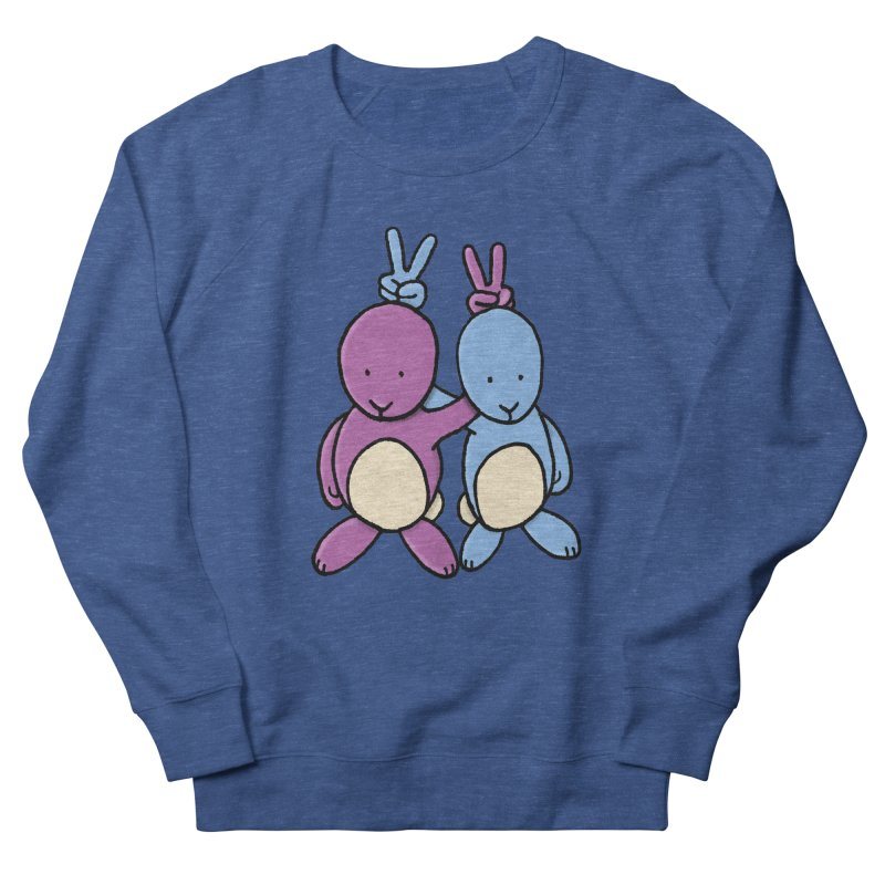 Bunny Ears Men's French Terry Sweatshirt by Phildesignart
