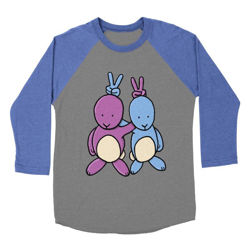 Bunny Ears Women's Baseball Triblend T-Shirt by phildesignart's Artist Shop