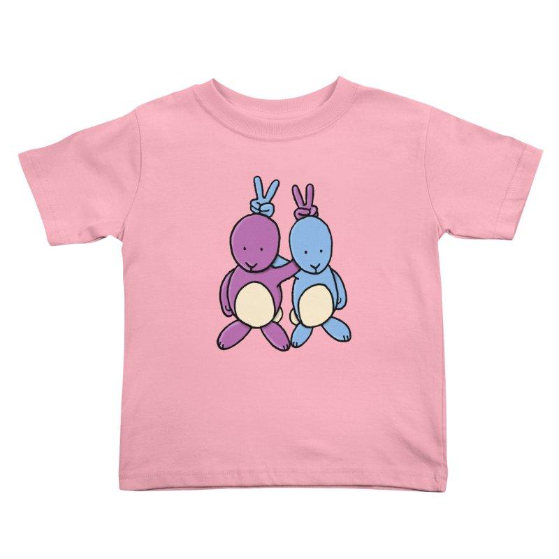 Bunny Ears Kids Toddler T-Shirt by phildesignart's Artist Shop