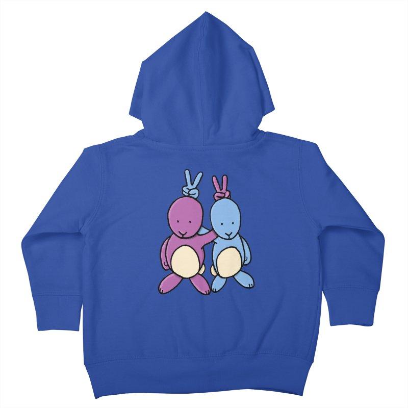 Bunny Ears Kids Toddler Zip-Up Hoody by phildesignart's Artist Shop