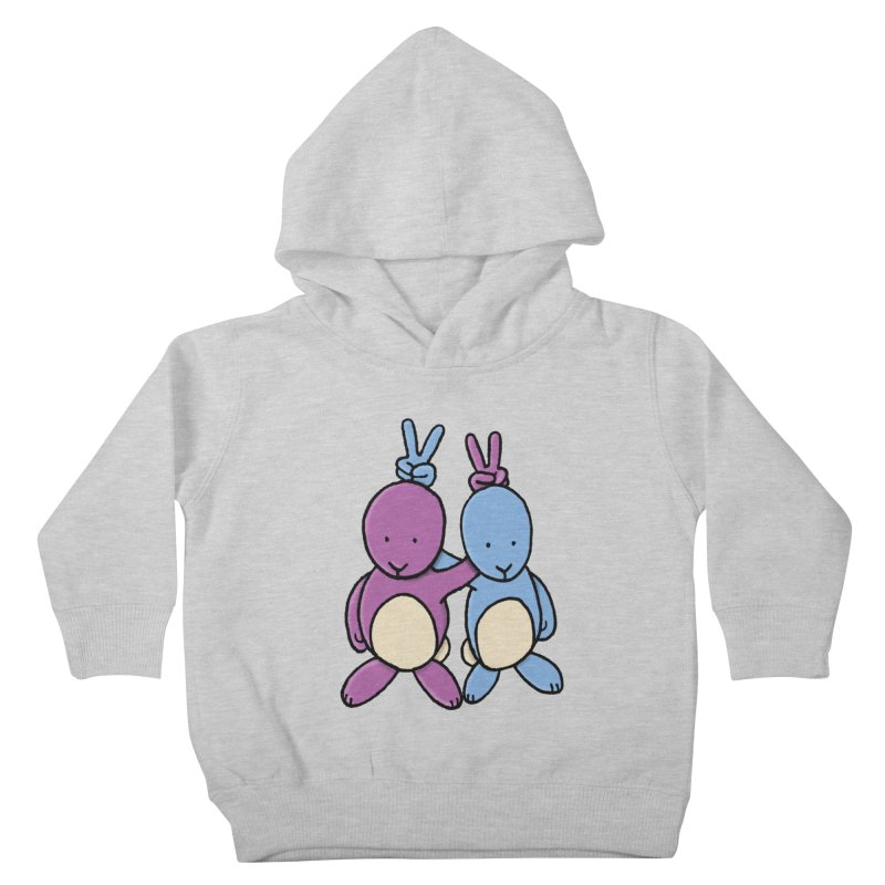 Bunny Ears Kids Toddler Pullover Hoody by phildesignart's Artist Shop