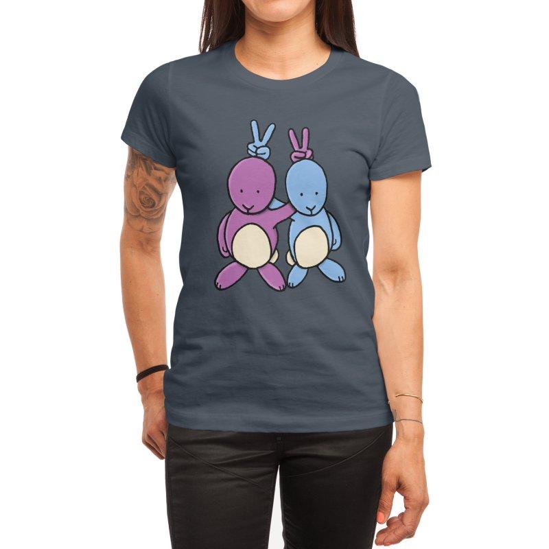 Bunny Ears Women's T-Shirt by Phildesignart