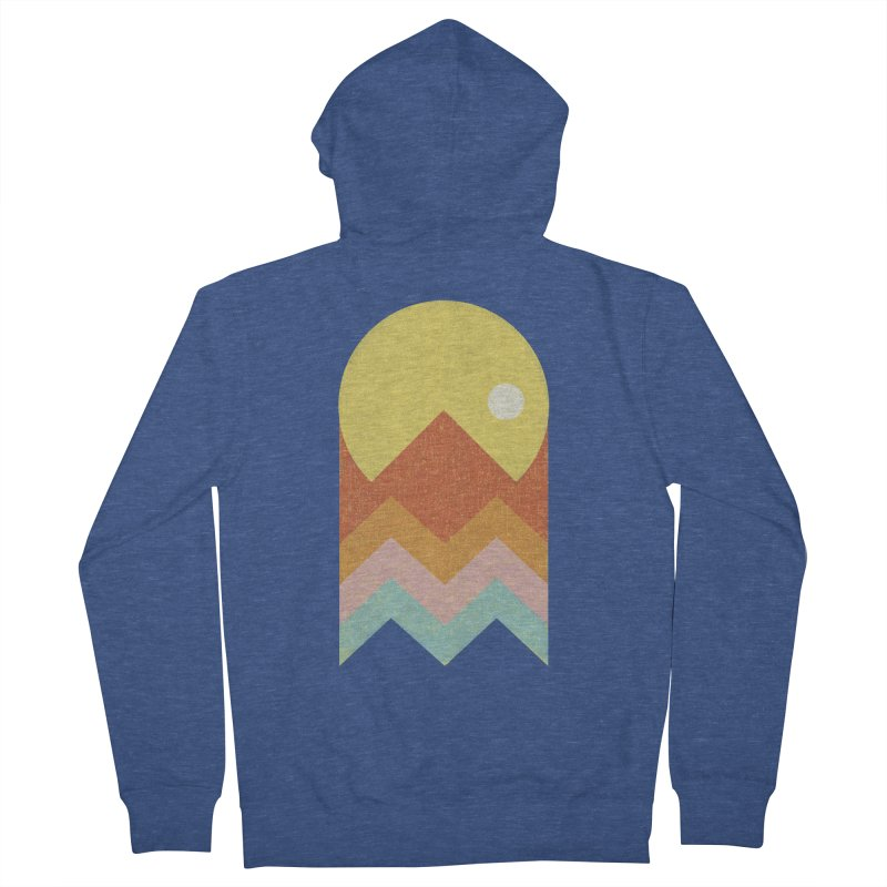 Amazeing Sunset Men's Zip-Up Hoody by Phildesignart