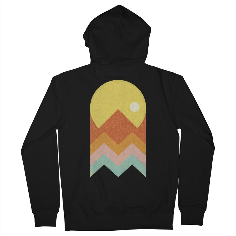 Amazeing Sunset Men's Zip-Up Hoody by phildesignart's Artist Shop