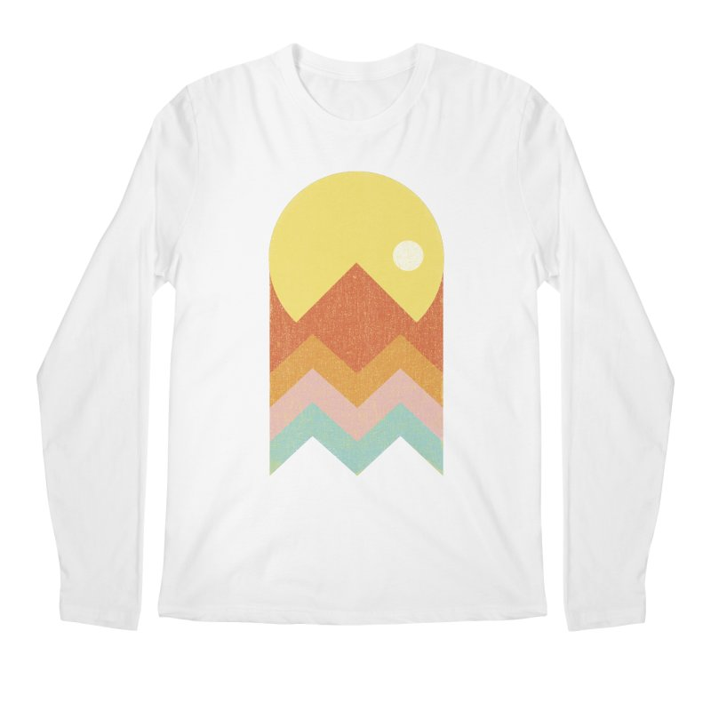 Amazeing Sunset Men's Regular Longsleeve T-Shirt by Phildesignart