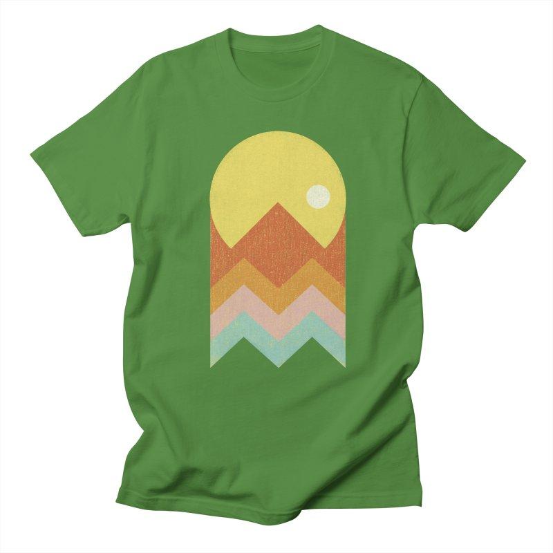 Amazeing Sunset Men's T-Shirt by Phildesignart