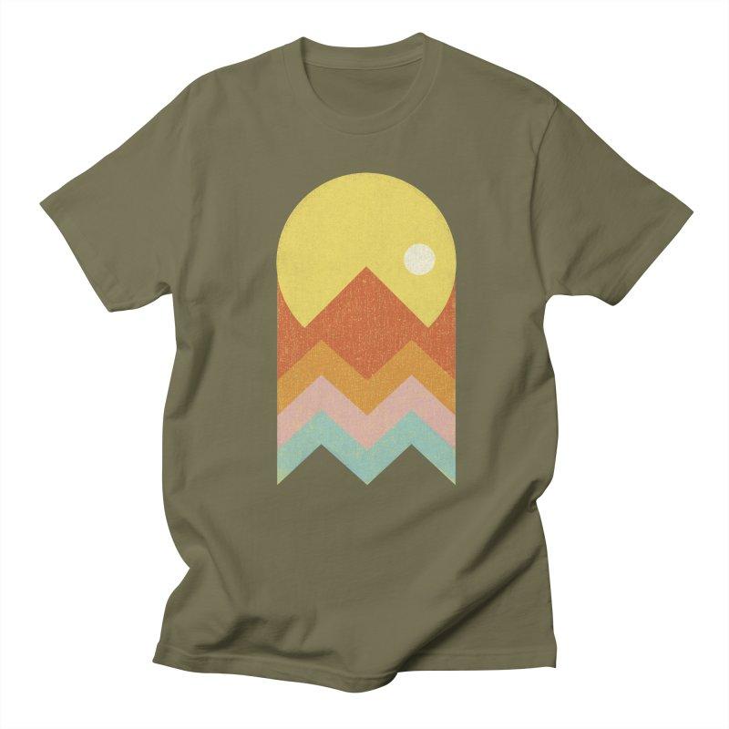 Amazeing Sunset Men's Regular T-Shirt by Phildesignart