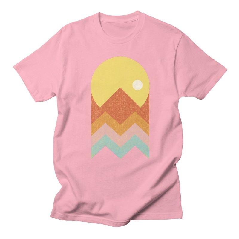 Amazeing Sunset Men's T-shirt by phildesignart's Artist Shop