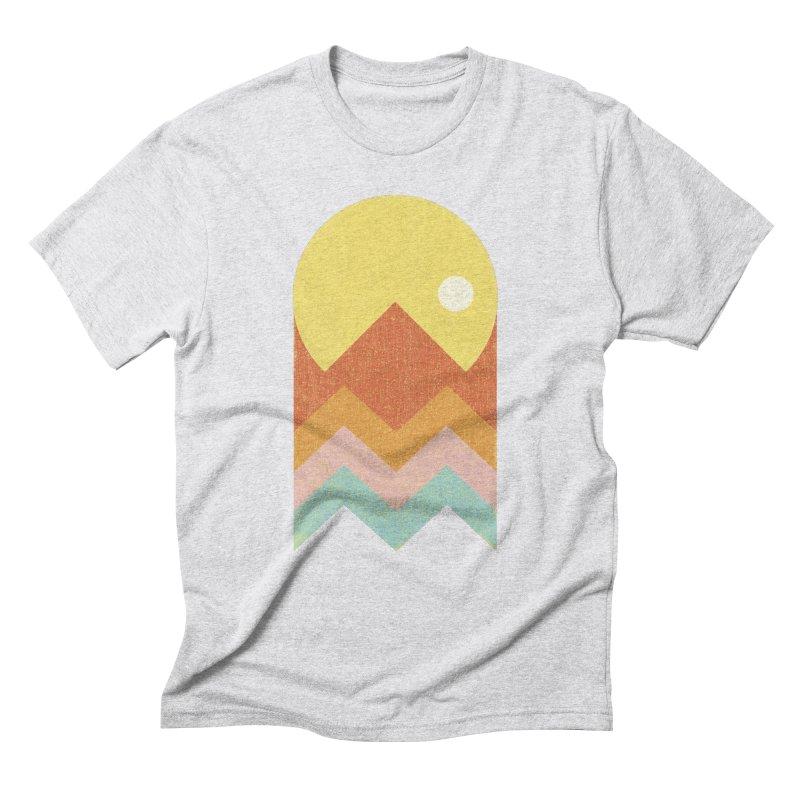 Amazeing Sunset Men's Triblend T-Shirt by Phildesignart