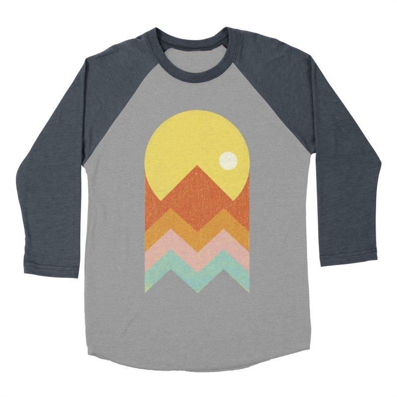 Amazeing Sunset Women's Baseball Triblend Longsleeve T-Shirt by Phildesignart