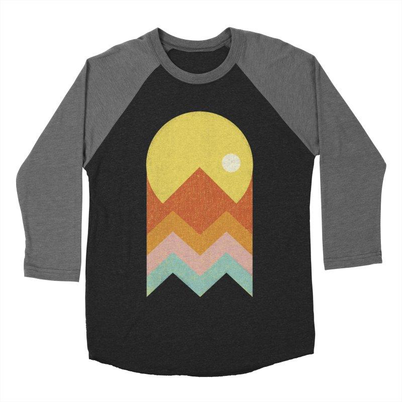 Amazeing Sunset Men's Baseball Triblend T-Shirt by phildesignart's Artist Shop