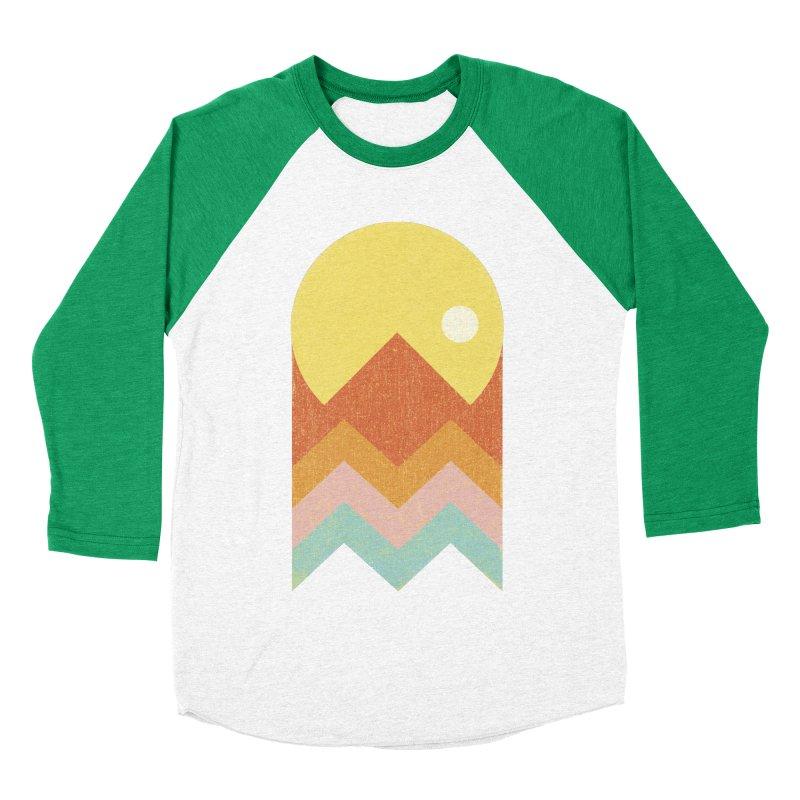 Amazeing Sunset Men's Baseball Triblend T-Shirt by Phildesignart