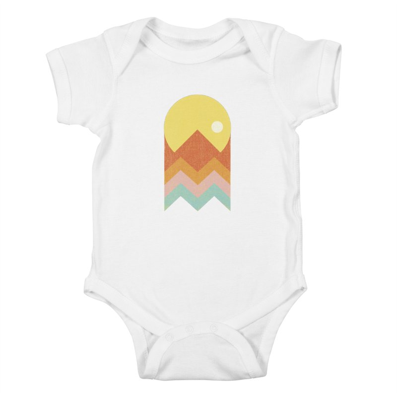 Amazeing Sunset Kids Baby Bodysuit by phildesignart's Artist Shop