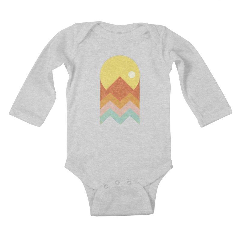 Amazeing Sunset Kids Baby Longsleeve Bodysuit by phildesignart's Artist Shop