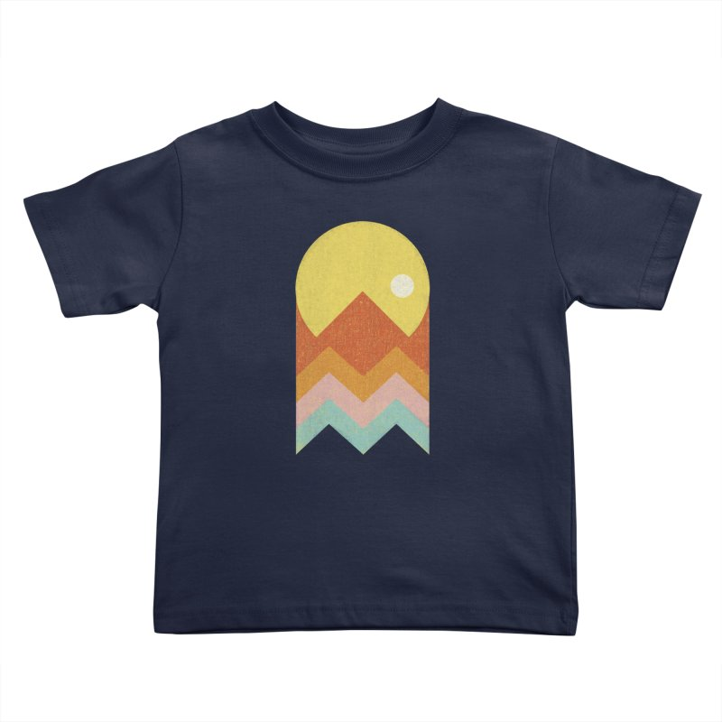 Amazeing Sunset Kids Toddler T-Shirt by phildesignart's Artist Shop