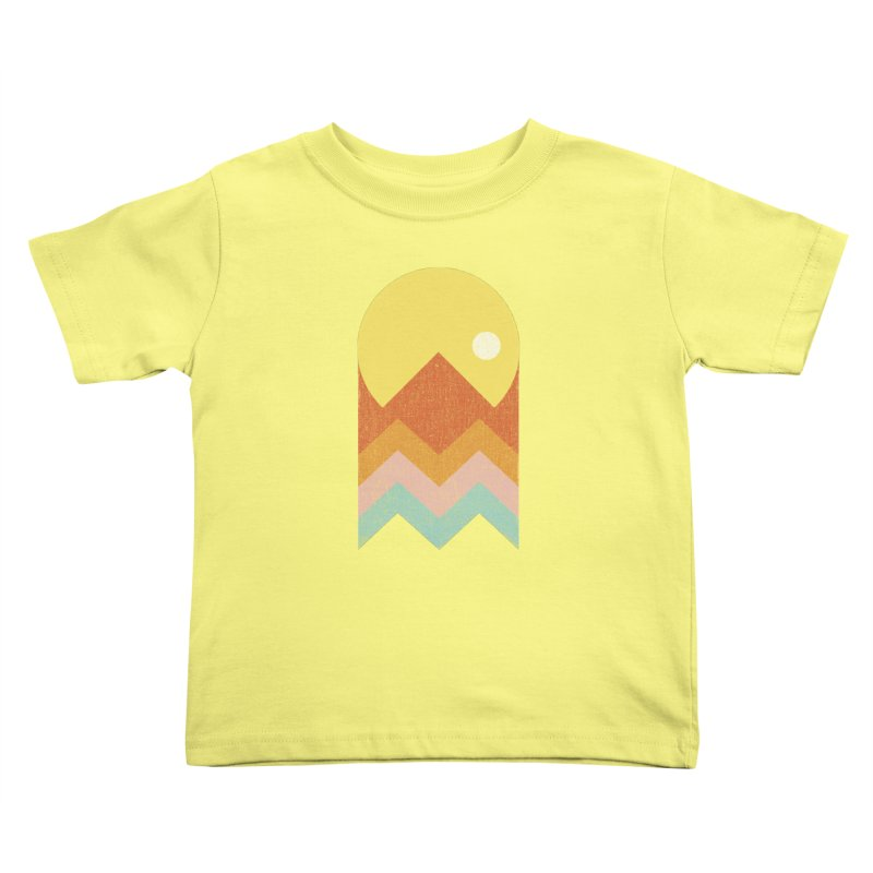 Amazeing Sunset Kids Toddler T-Shirt by Phildesignart