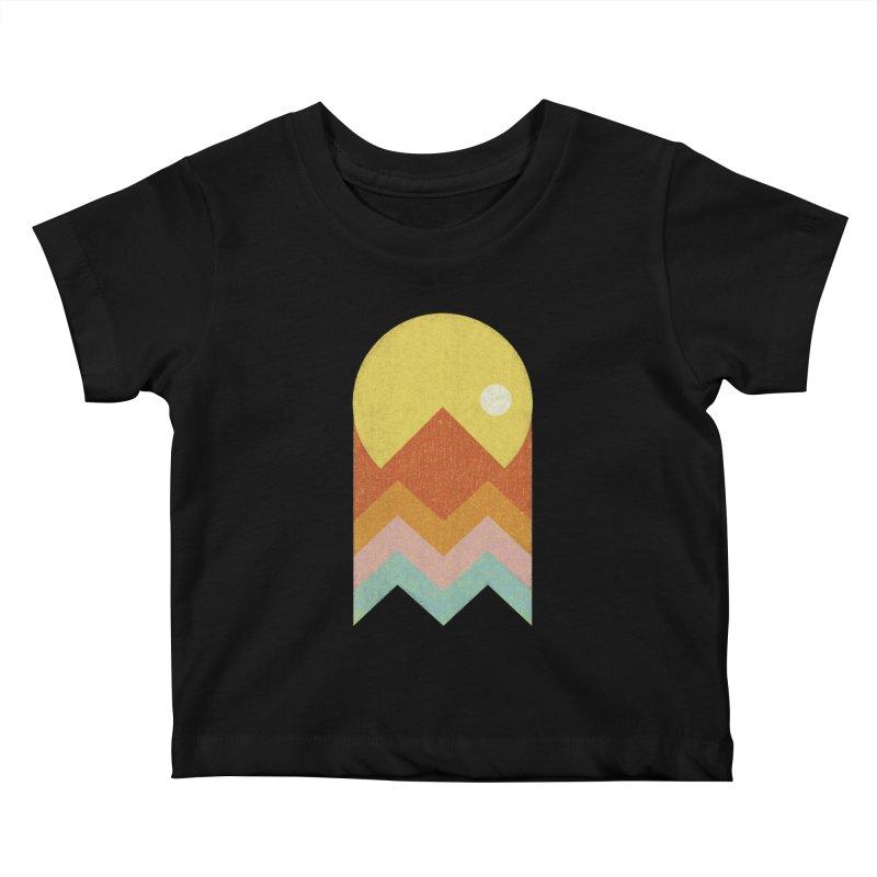 Amazeing Sunset Kids Baby T-Shirt by phildesignart's Artist Shop